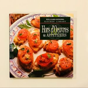 Williams Sonoma Kitchen Library Appetizers Book